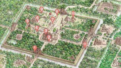 Angkor Thom Photographic Scavenger Hunt 814X458 Hanuman Travel