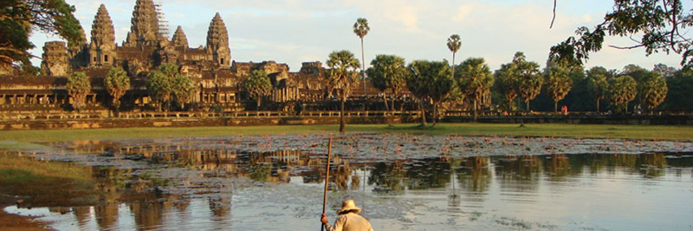 Angkor Wat is the perfect introduction to Cambodian culture