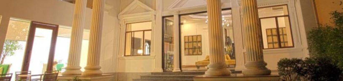 The White Mansion hotel in Phnom Penh, Cambodia.