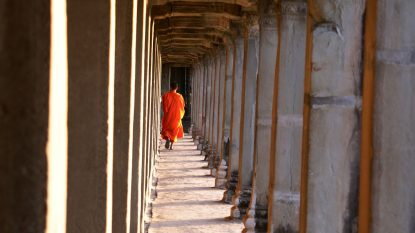 Travel Photography Monk Angkor Wat 1
