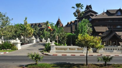 Kandawgyi Palace Hotel Hanuman Travel 814X458