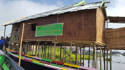 House Building On Inle Lake Hanuman Travel 814X458