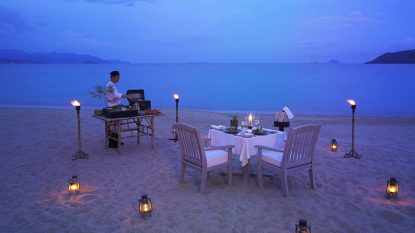 Private Beach Barbecue In Vietnam Hanuman Travel 814X458