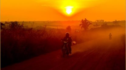 Motorbiking North Vietnam 390X240